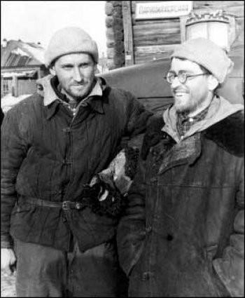 Georgy Atmanaki  and Vladislav Karelin in Vizhai