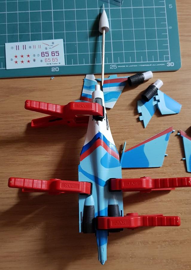 F-Toys Flanker Family Su-27/Su-30 1/144