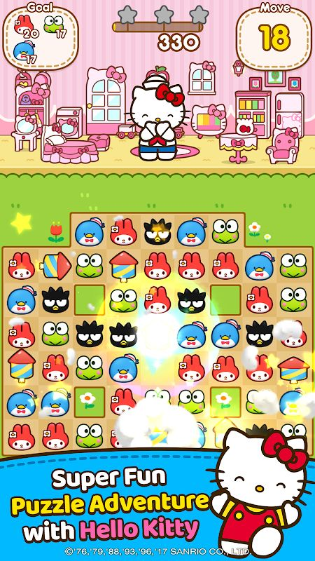 Hello Kitty Friends (MOD, Unlimited Moves)