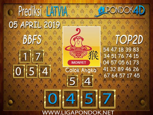 Prediksi Togel LATVIA PONDOK4D 06 APRIL 2019