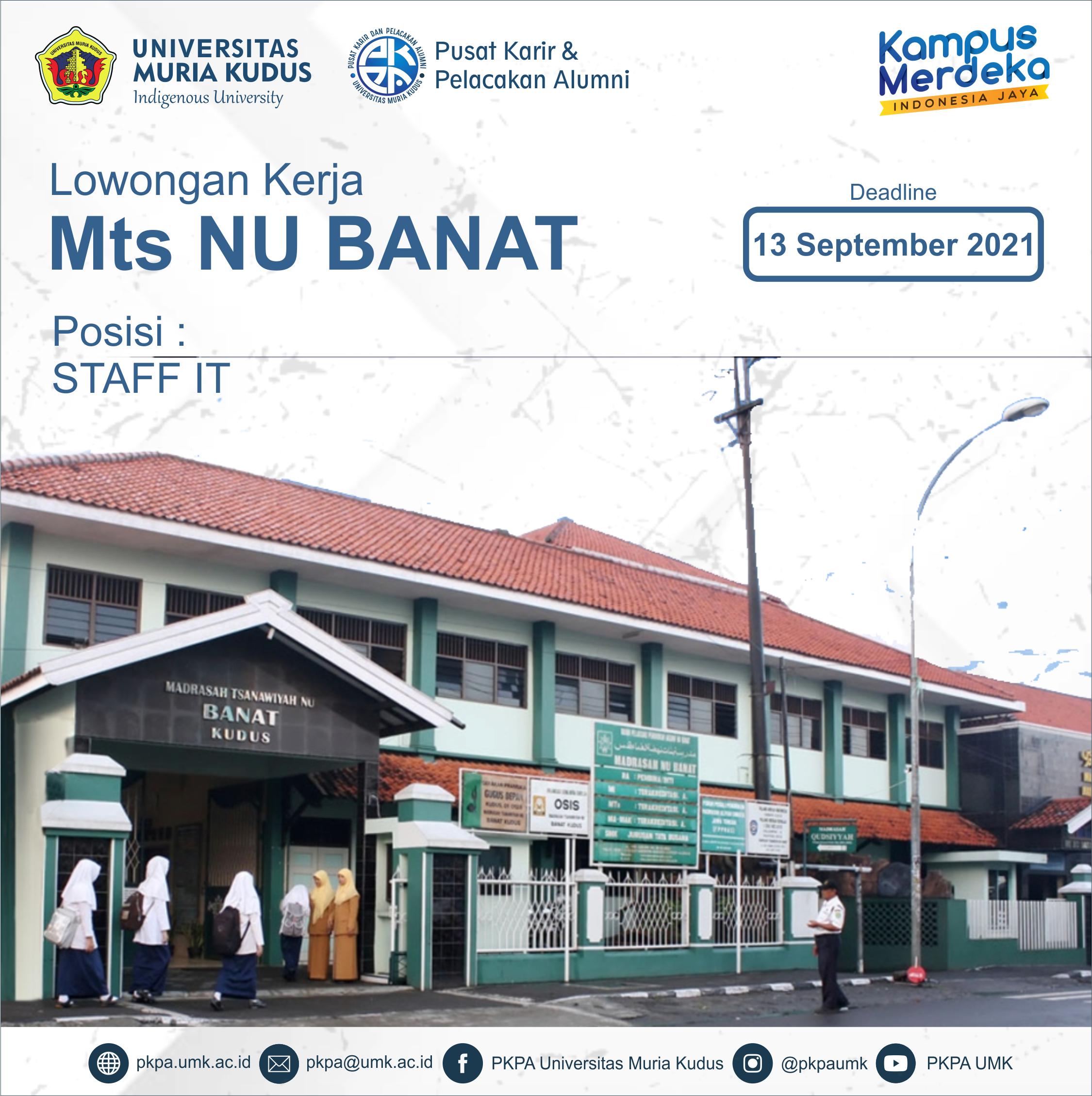 Lowongan-MTs-NU-Banat-2021-new