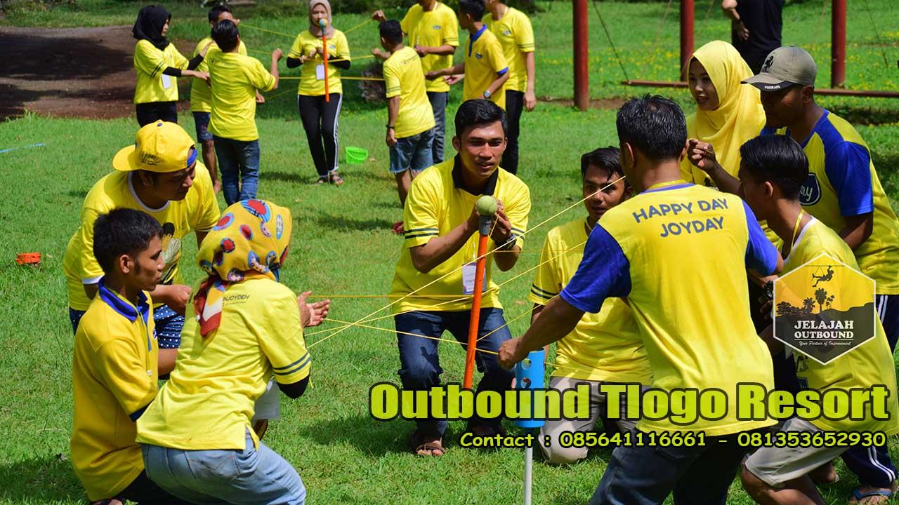 jasa outbound team building tlogo resort