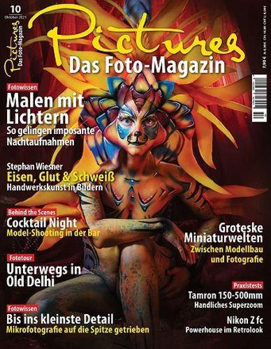 Cover: Pictures Das Foto-Magazin Oktober No 10 2021