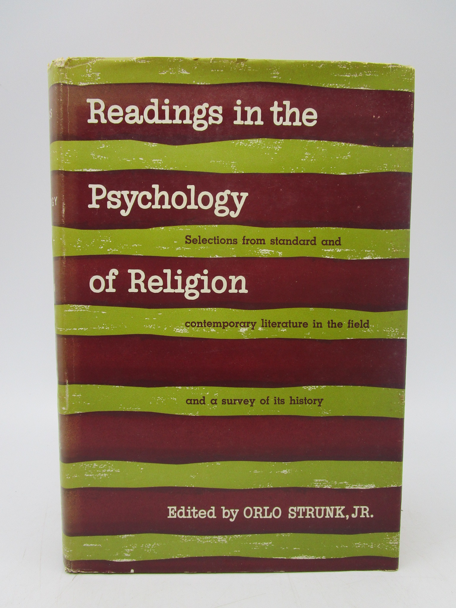Image for Readings in the Psychology of Religion (First Edition)