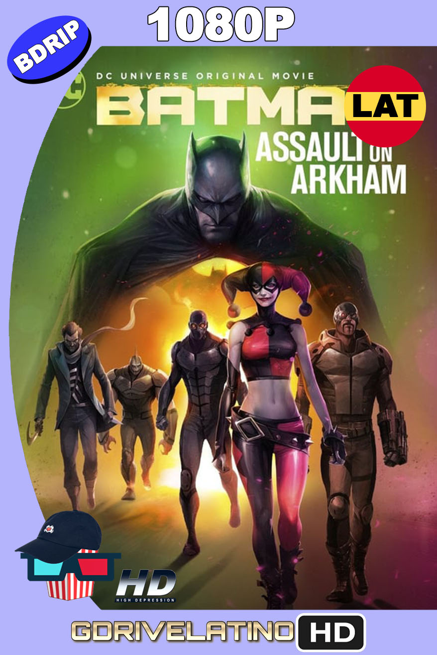 Batman: Ataque a Arkham (2014) BDRip 1080p Latino-Inglés MKV