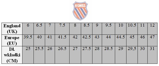 kswiss-size-chart