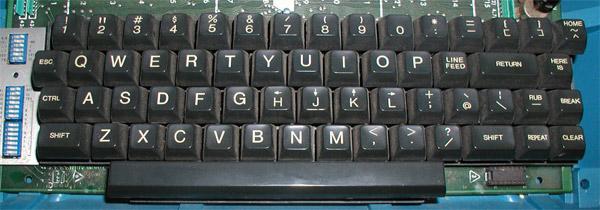 ADM-3A terminal keyboard