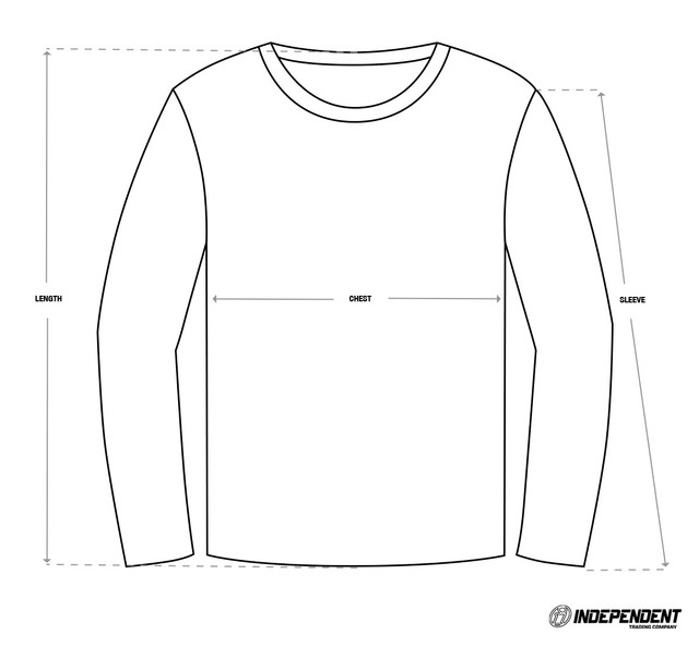 Size-Chart-Long-Sleeve-Independent-Trading-Co