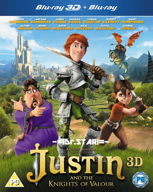 Justin and the Knights of Valour 2013 Dual Audio Hindi 480p BluRay 300MB Download
