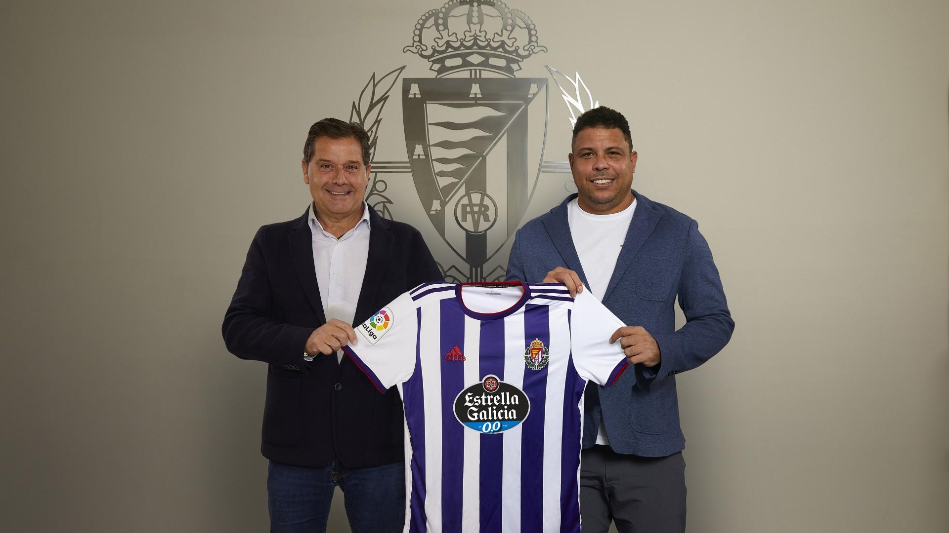 Estrella Galicia, nuevo patrocinador princial del Real Valladolid EGalicia-Ronaldo
