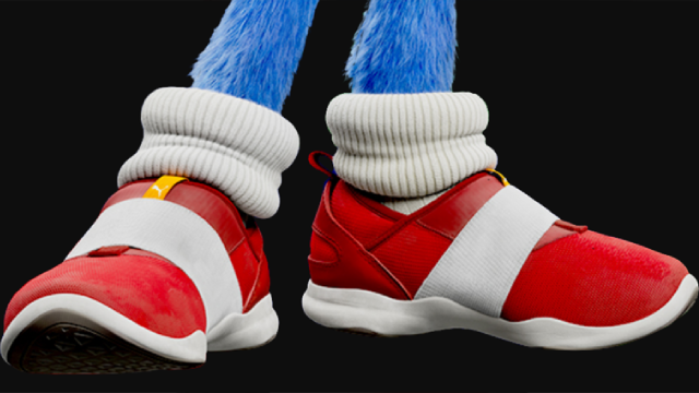 Puma Footwear Brand Teases That Shoes Based On The Sonic The Hedgehog Movie Are Coming Soon