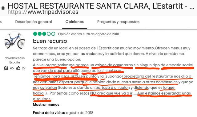 Hostal-Santa-Clara-Estartit-opinion-disculpas