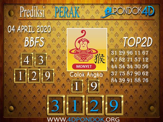 Prediksi Togel PERAK PONDOK4D 04 APRIL 2020
