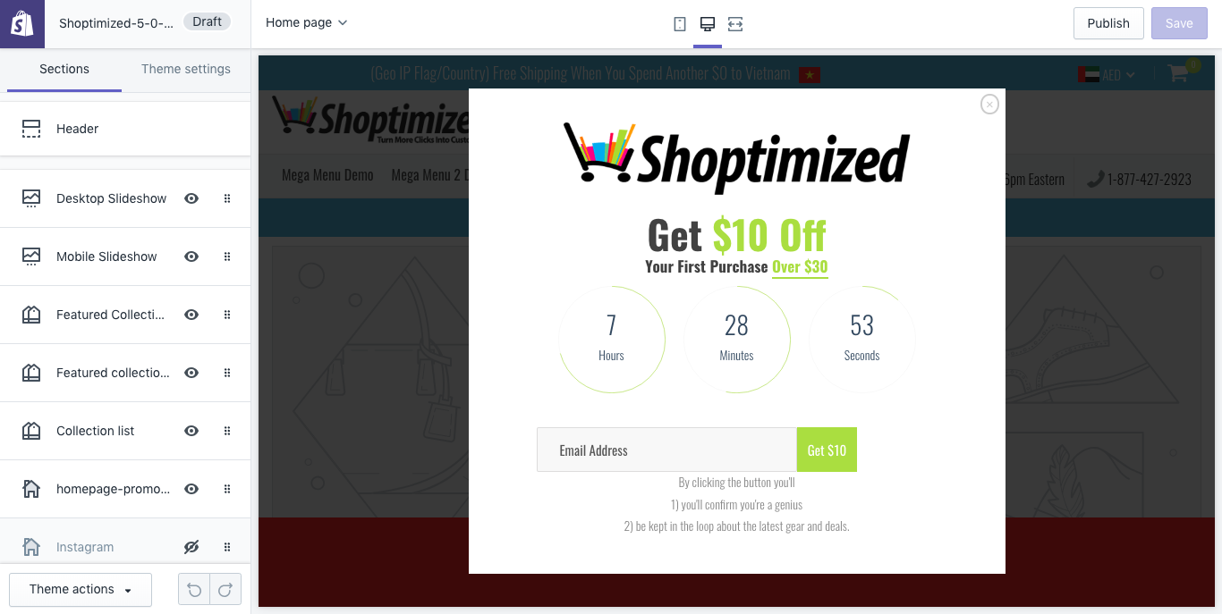 Shoptimized Theme Review