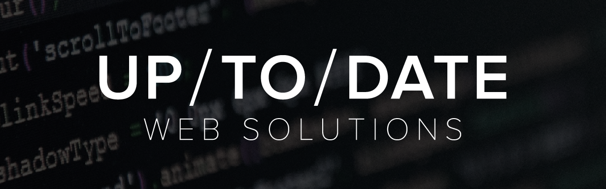 Разработка и продвижение сайтов — UP/TO/DATE