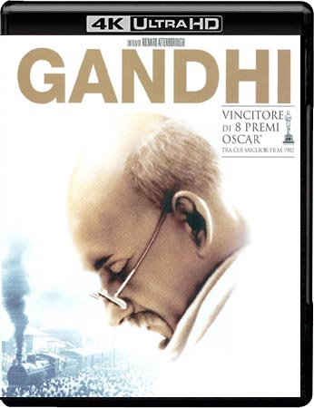 Gandhi (1982) UHD 4K Video Untouched iTA ENG DTS HD MA+AC3 Subs