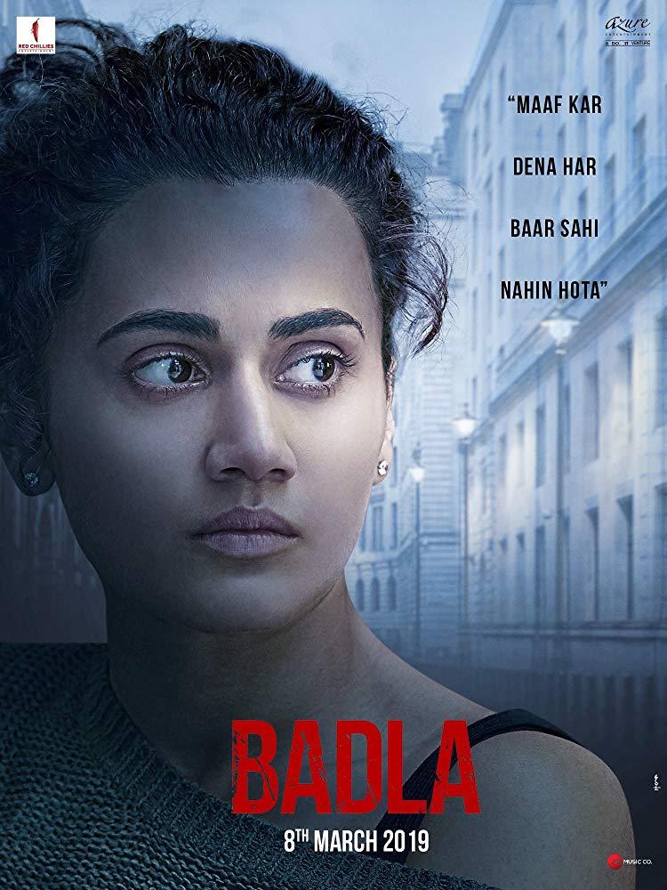 Badla 2019 Hindi Movie HDRip x264 AC3.