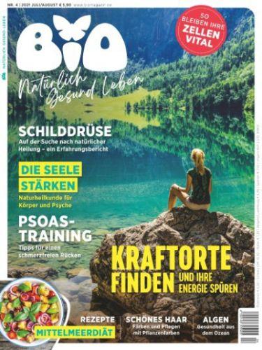 Cover: Bio Magazin No 04 Juli-August 2021