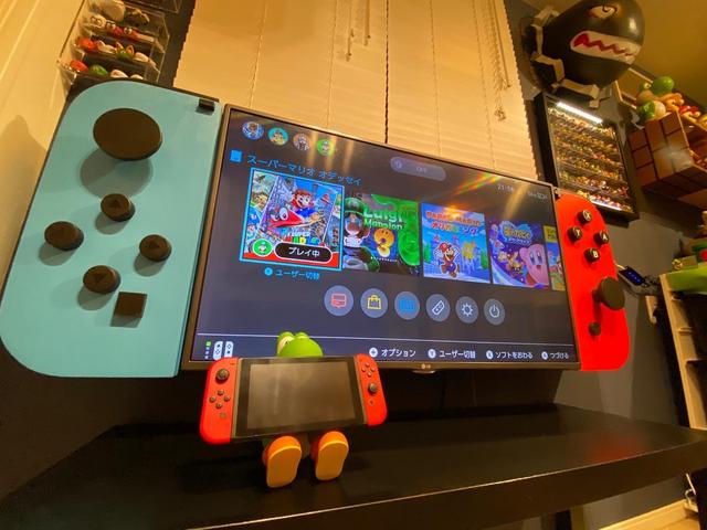 "推主做了一個""巨大的Nintendo Switch""~ Image"
