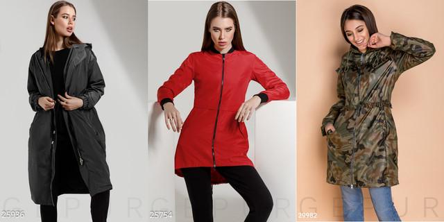 женские куртки-парки