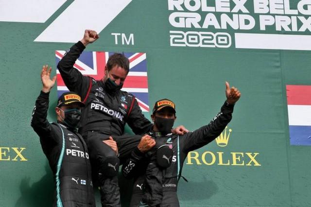 F1 GP de Belgique 2020 : Victoire Lewis Hamilton (Mercedes) 1053888