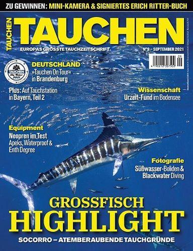 Cover: Tauchen Magazin No 09 September 2021