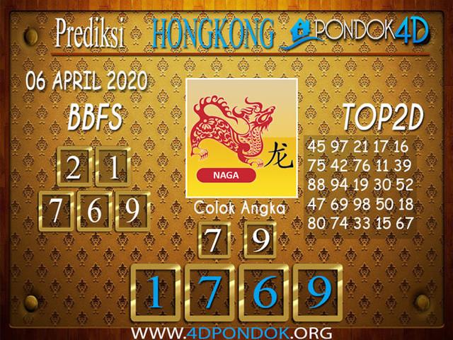 Prediksi Togel HONGKONG PONDOK4D 06 APRIL 2020