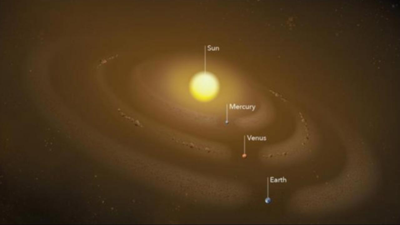 La NASA descubre la existencia de un anillo de polvo en el Sistema Solar