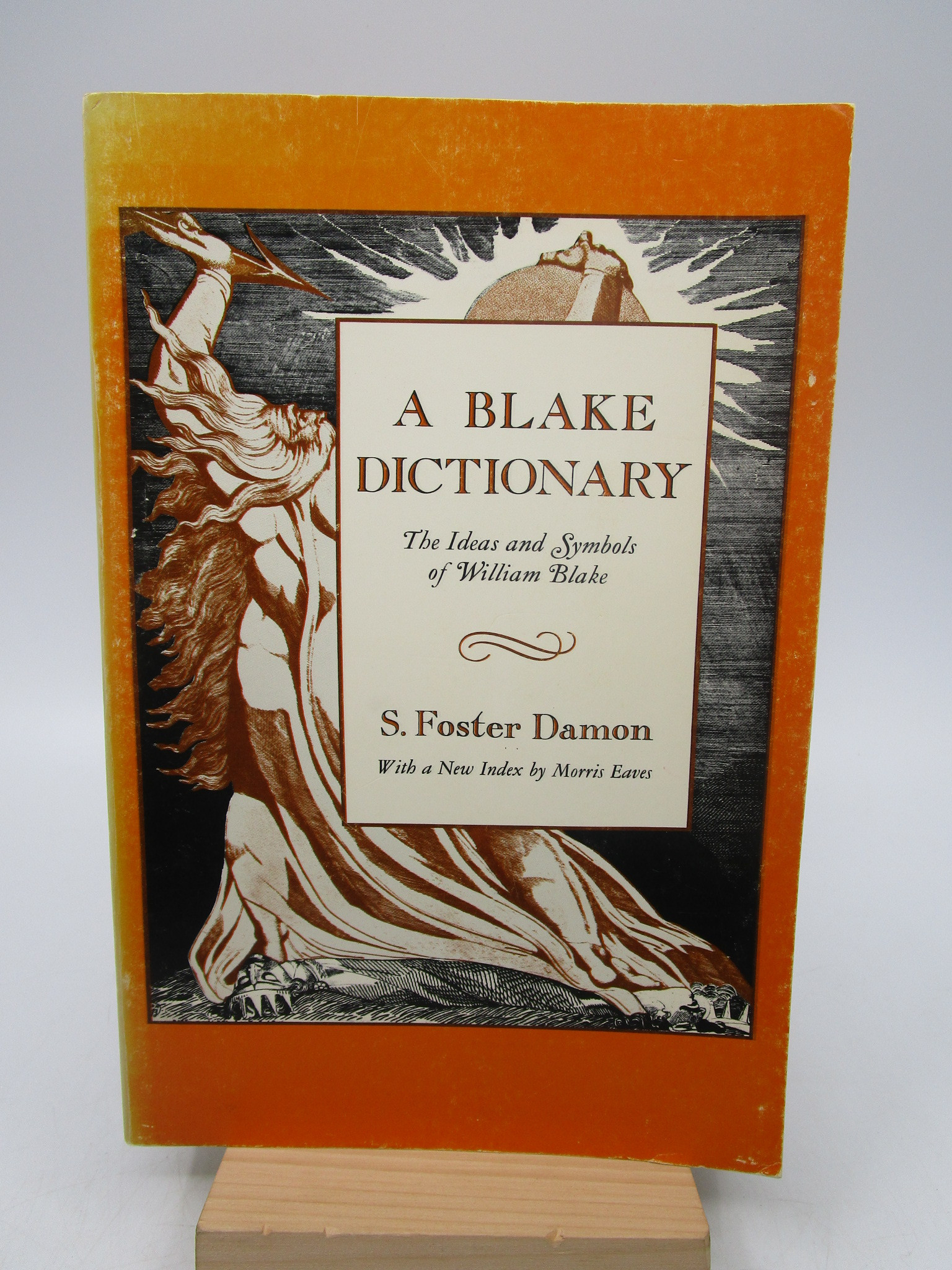 Image for A Blake Dictionary: The Ideas and Symbols of William Blake