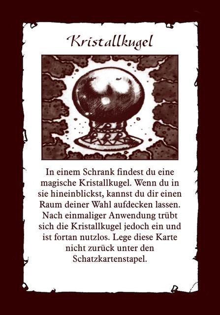 Schatz-Kristallkugel