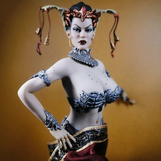sideshow - NEW PRODUCT: Tbleague x SIDESHOW New: 1/6 Court of the Dead: Gethsemoni The Dead Queen action figure (PL2019-147) 33