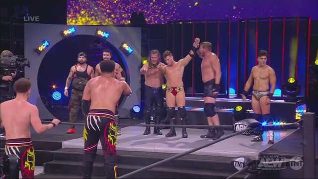 Inner Circle y Chris Jericho vencieron a los Best Friends