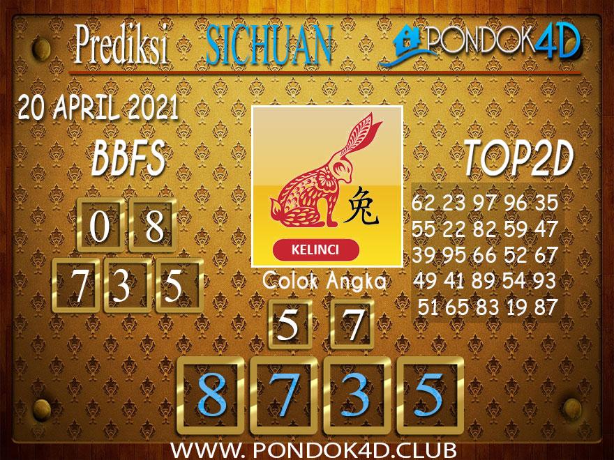 Prediksi Togel SICHUAN PONDOK4D 20 APRIL 2021