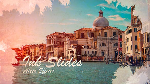 Videohive - Ink Slides   After Effects - 32593609