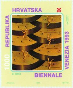 1993. year HRVATSKI-UMJETNICI-NA-45-VENECIJANSKOM-BIENNALU-ELJKO-KIPKE