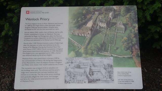 Much Wenlock Priory
