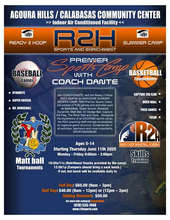 R2H Summer Camp Flyer