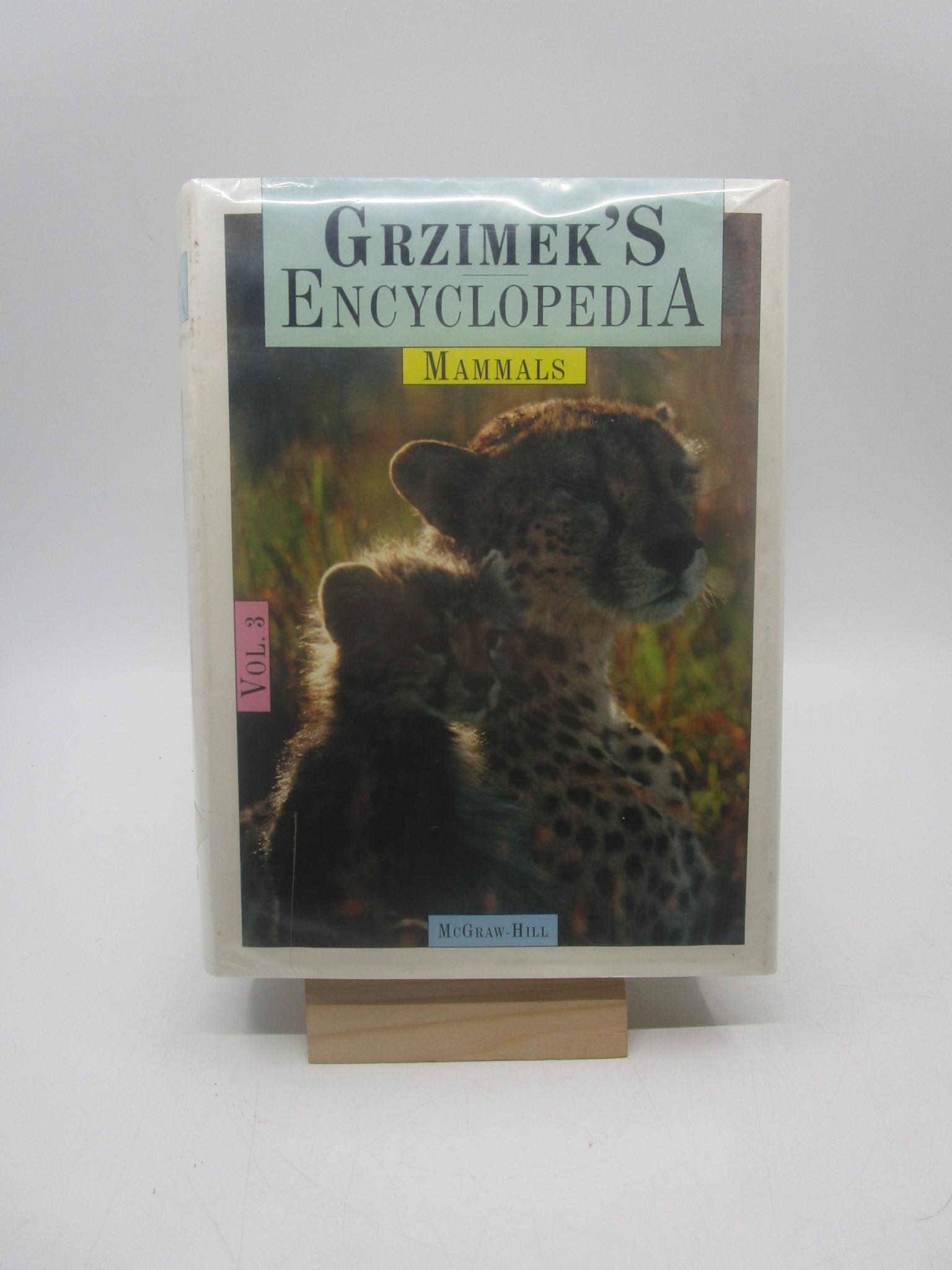 Image for Grzimek's Encyclopedia of Mammals, Volume 3
