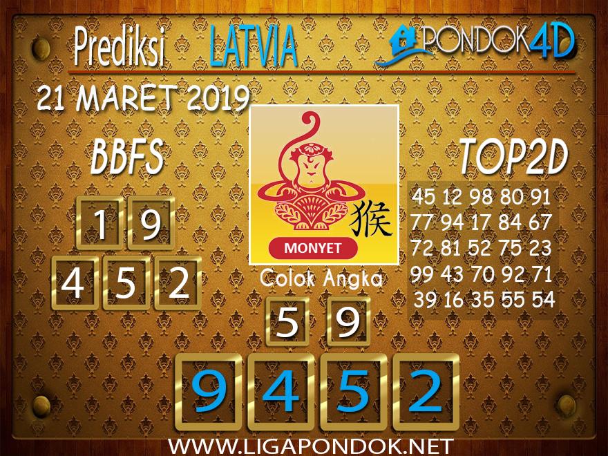 Prediksi Togel  LATVIA  PONDOK4D  21 MARET 2019