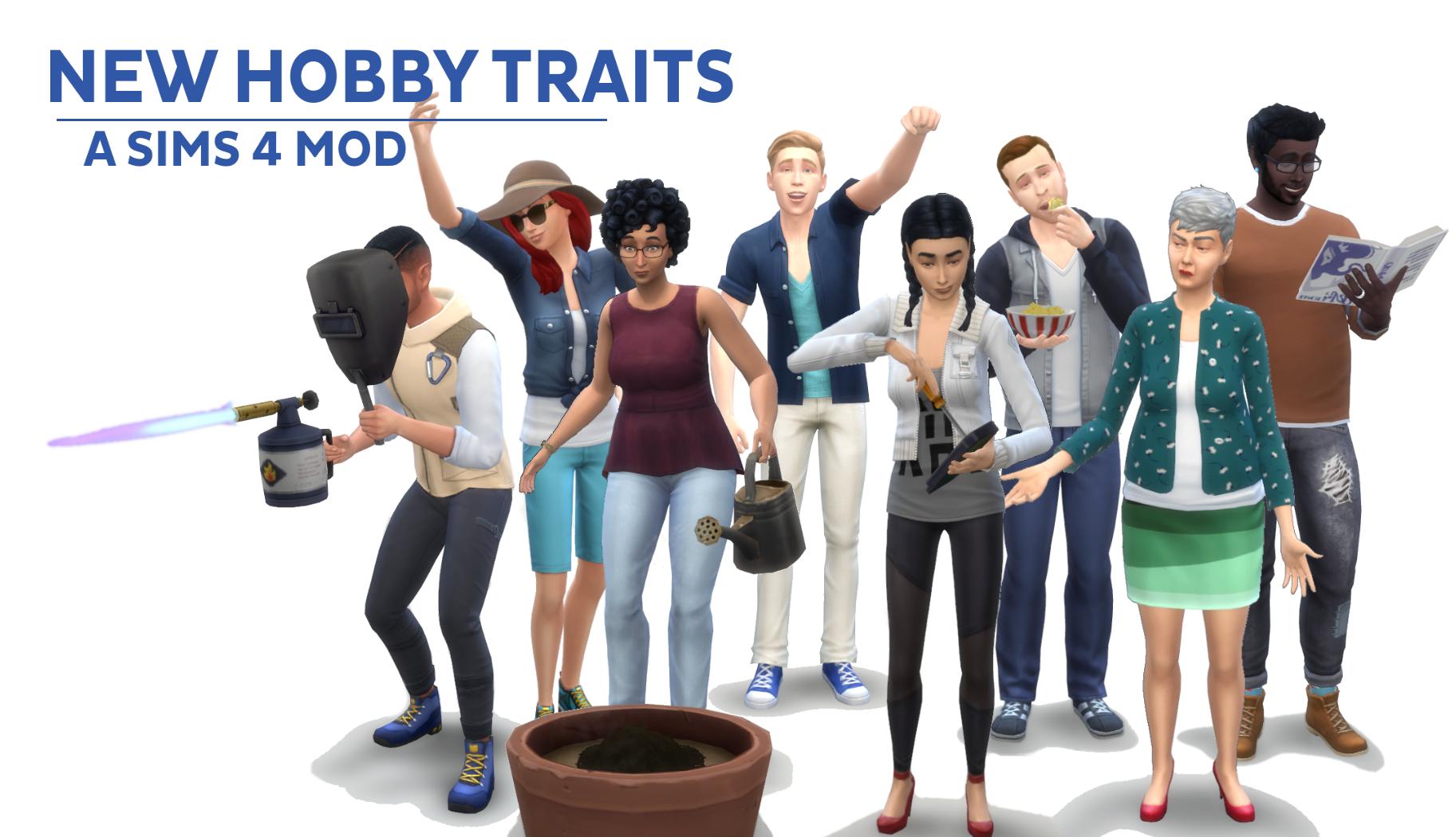 Черты характера - Хобби / New Hobby Traits