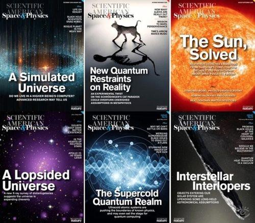 Scientific American: Space & Physics - 2020 Full Year Bundle