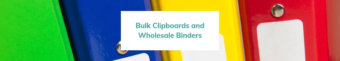 Bulk Clipboards and wholesale binders