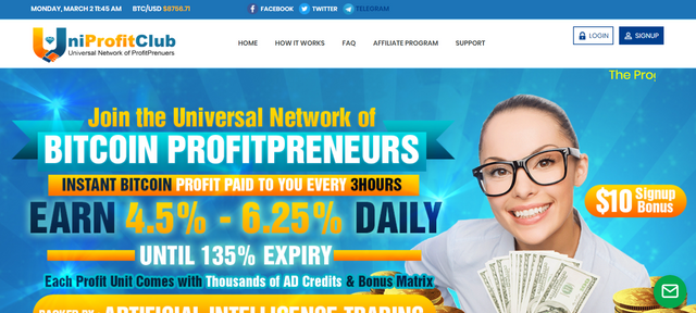 SCAM – uniprofitclub.com review – Scam or Paying?