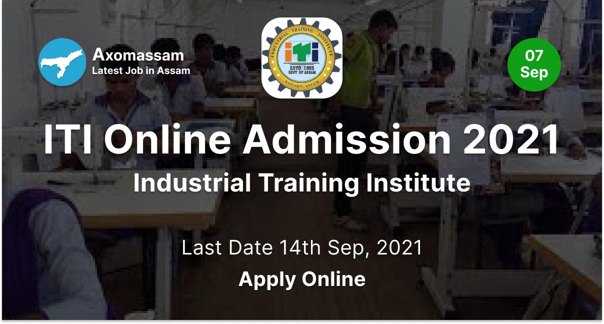ITI Online Admission 2021 - Industrial Training Institute