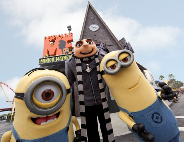 Despicable Me Minion Mayhem at Universal Orlando