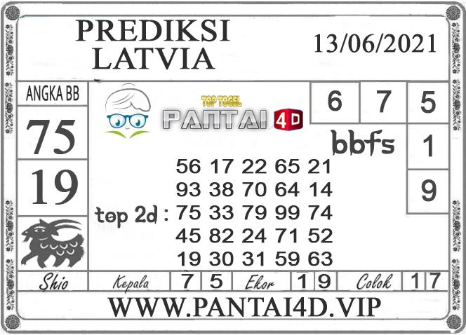 PREDIKSI TOGEL LATVIA PANTAI4D 13 JUNI 2021