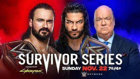 WWE Survivor Series 2020 PPV
