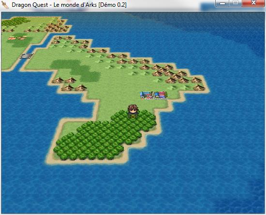 Dragon Quest - Le monde d'Arks (Démo 0.2) (02/08) 3