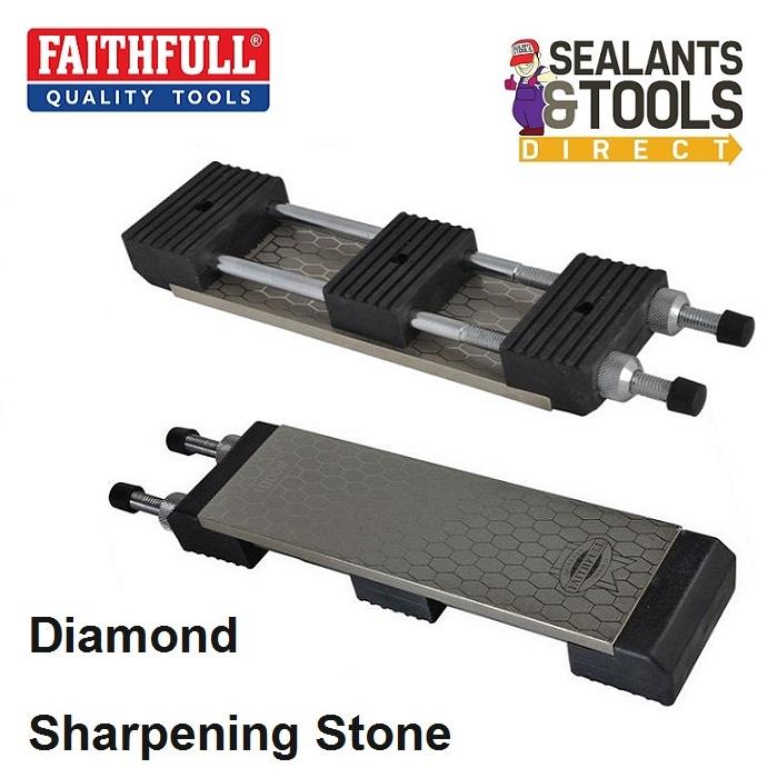 Faithfull Diamond Sharpening Stone Wet or Dry Station FAIDWKITAV