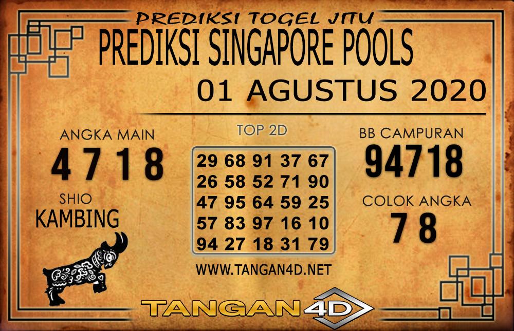 PREDIKSI TOGEL SINGAPORE TANGAN4D 01 AGUSTUS 2020